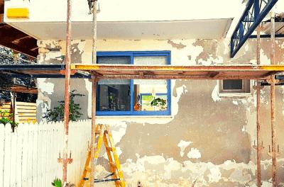 שיפוץ בית ישן מבחוץ